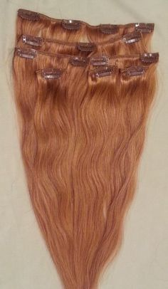 18 inches 7pcs Clip In Human Hair Extensions 27 by Hairfauxyou, $59.99