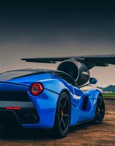 Rhapsody In Blue~ Ferrari LaFerrari