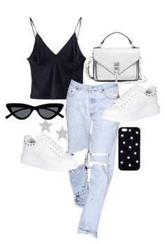 Casual ootd featuring Rebecca Minkoff, Alexander McQueen, Le Specs, STELLA McCARTNEY and Diamond Star