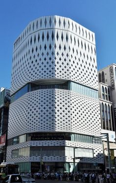 Ginza Place - The new building designed by Klein Dytham Architecture finished construction in 2017.