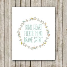 Quote Art Print - Instant Download Printable    BUY MORE, SAVE BIG!  Buy 2, Get 1 Free! Use code B2G1F at check-out (must have a $15 initial