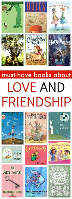 Help your child learn to be a good friend with these books.