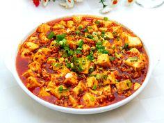 Sichuan: 麻婆豆腐 Mapo Doufu - Braised Spicy Tofu with Minced Pork