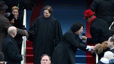 "It's up to Chief Justice Roberts to save the Supreme Court from itself""People don't have to believe in the judiciary,"" Justice Elena Kagan warned at an event styled as a conversation between her and … Elena Kagan, Chief Justice Roberts, Sonia Sotomayor, Presidential Inauguration, Supreme Court Justices, Michelle Obama, Barack Obama, Presidents, Celebrities"