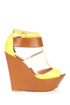 Emma Wedge Platform Sandal