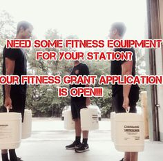 Fitness Equipment Grant  Our 555fitness grant is open until June 14th. It is open to all first responder agencies. Including police and sheriffs departments.  You need to visit the link in the bio and fill out the required information. The waiver and photos need to be sent to 555Grant@555fitness.com.  5-5-5 Fitness is determined. We are rogues we are vigilant we are motivated and we mean to create total change. -  The goal at 5-5-5 Firefighter Fitness Inc. is to help reduce Line Of Duty…