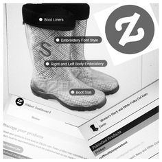 We are official Zazzle Makers!!! Go check out our #Zazzle Store and the awesome fully customizable #boot platform! http://www.zazzle.com/twoality @zazzle #TwoAlity #ClearBoots #Monograms #Customized #RainBoots #SnowBoots #MadeInTheUsa