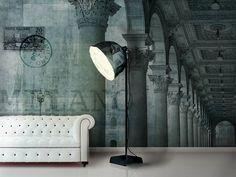 Panoramic wallpaper PIAZZA Milano Collection by N.O.W. Edizioni