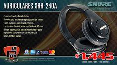 La Púa San Miguel: Auriculares SHURE SRH-240A