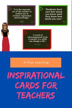 Inspirational Cards For Teachers School Resources, Classroom Resources, Teacher Resources, Teacher Cards, Your Teacher, Classroom Organization, Classroom Management, Staff Morale, How To Stay Motivated