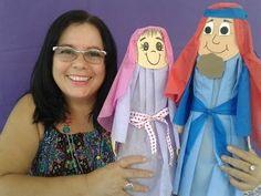 Personagem Bíblico de cone de papel cartão-  Aleyr Azeredo - YouTube
