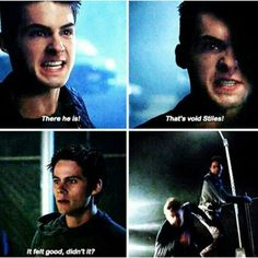 Theo and Stiles. Teen Wolf Season 5 Episode 10