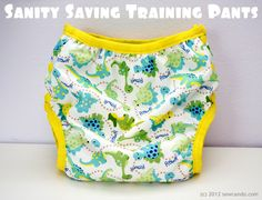 DIY training pants Sanity saving homemade training pants ideas @ Sew Can Do think they will work magic?  I think Ill only be potty training #3 for about 3 more yrs.