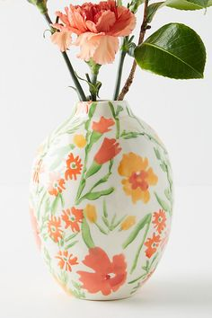 Leah Goren Marcella Vase by in White, Vases at Anthropologie Leah Goren, Make Your Own Chocolate, Paint Your Own Pottery, Berry Baskets, Boho Wedding Decorations, Pottery Designs, Ceramic Design, Pottery Painting, Handmade Pottery