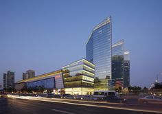 Exterior Design of China Central Place Retail Building