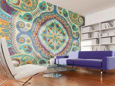 Fotomural a medida Mosaico pastel #fotomural #fotomurales #oriental #home #design #wallpapers