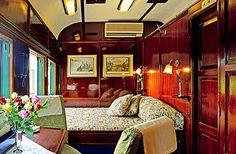 The Blue Train - SOUTH AFRICA. Luxury travel from Cape Town to Johannesburg. You just can't beat a good train trip! Train Car, Train Rides, Train Travel, Train Trip, Simplon Orient Express, Blue Train, Travel Advisory, Hotels, Luxury Rooms