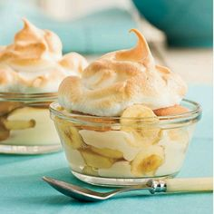 banana pudding - i don't think it's really southern banana pudding if the pudding wasn't made on the stove in a double boiler and topped with real meringue