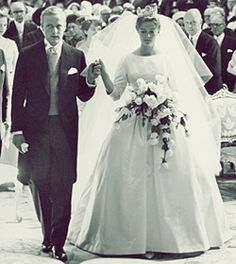 Miss Honoria Glossop:  Wedding of Princess Birgitta of Sweden and Prince Johann George of Hohenzollern 1961