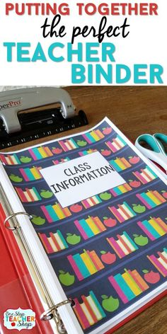 My teacher binder helps me stay organized all year. Here are some of my favorite tips and ideas for putting together the best teacher binder. See my lesson plan templates, teacher binder covers, and more! (I can't live without number 5) Teacher Planner   Plan Book   Classroom Organization   Teacher Binder Covers
