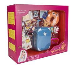 Our Generation Home Accessory - Well Travelled Luggage Set Our Generation Doll Accessories, My Life Doll Accessories, American Girl Accessories, Barbie Doll Set, Barbie Toys, Girl Dolls, Ropa American Girl, American Girl Doll Room, American Girl Stuff