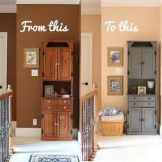 Paint can give SUCH new life to things you already own!      Check out how Blogger Joy of Joy's Life used   BEHR PREMIUM PL...