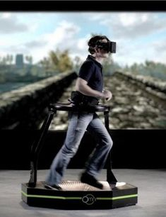 Virtual Reality is set to be the next big thing with Virtuix Omni V. Click to find out how it works! #spon #CoolTech