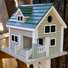 Home Bazaar Long Island Birdhouse Bird House Plans, Bird House Kits, Bird Houses Painted, Bird Houses Diy, Homemade Bird Houses, Bird House Feeder, Bird Feeders, Birdhouse Designs, Grey Houses