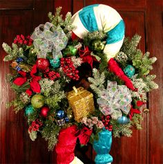 swags wreaths christmas | ... Christmas Wreaths SALE, door wreath, Swags, Mantle, Arrangements on