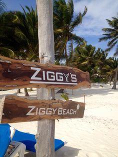 ziggy's - Ziggy Beach, Tulum Riviera Maya  -- Just took this same picture!  Love it!