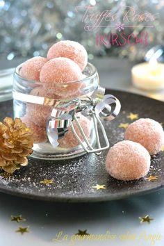 Truffes de Noël {biscuits roses - Kirsch}