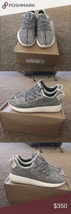 Yeezy Turtle Doves Condition 10/10 , Authentic, No Original Box , For More Pics Text Me 9739146120 Price Is Negotiable. Size 8 In Men Yeezy Shoes Sneakers