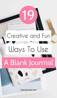 Do you have any cute blank notebooks you don't know what to do with? Don't worry, Captain Masha to the rescue! Here are 19 ideas for you to finally start using your empty journals and turn them into something fun, useful and creative! How To Bullet Journal, Bullet Journal Printables, Bullet Journal How To Start A, Bullet Journal Layout, Bullet Journal Inspiration, Bullet Journals, Blank Journal, Journal Pages, Journal Ideas