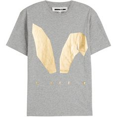 McQ Alexander McQueen Printed Cotton T-Shirt