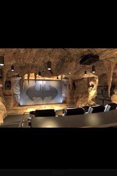 Bat cave home cinema.... WANT!!                              …