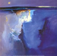 Horizont in Violetttönen - Peter Wileman
