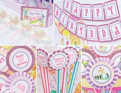 More Mary Poppins party banner and printables.