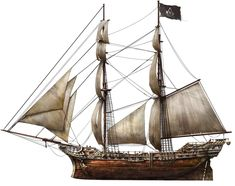 Assassin pirate ship from Assassin's Creed IV: Black Flag