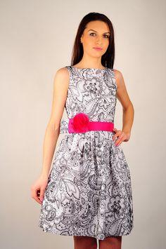 Rochie de zi sau de seara RVL cu cordon in talie. Pretty Face, Dresses, Fashion, Vestidos, Moda, Fashion Styles, Dress, Fashion Illustrations, Gown