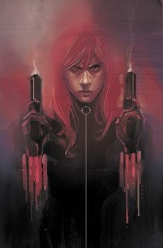 Phil Noto, Black Widow #13. check out the series! great art, stories and colours.