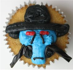 Cad Bane Cupcakes Recipe inspired by Star Wars