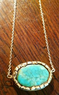 Turquoise with Thai Gold