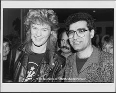 Daryl Hall and Eugene Levy  If you like this picture,  please join my FB page to see more! www.facebook.com/HallAndOatesForever