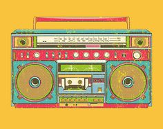 I have a thing for boomboxes. No idea why.