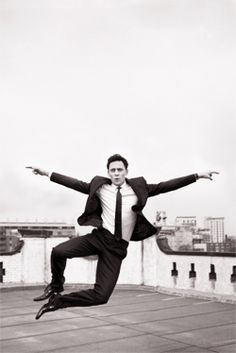 Dapper, fun, and cute overload! Geez Hiddles, what are you doing to us??