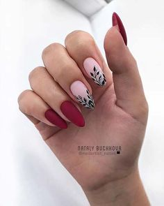 13 Nail Design Ideas to Inspire Your Next Manicure: Perfect Nails, Gorgeous Nails, Fabulous Nails, Red Nails, Hair And Nails, Fall Nails, Acrylic Nail Designs, Nail Art Designs, Cute Nails