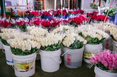LA Flower District vendors will be open 24 hours for Valentine's Day, and offering discounted prices on red roses and Valentine's Day bouquets.