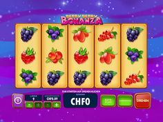 Try out the demo of Berry Berry Bonanza now, where both directions pay out. Berry Berry, Beide, Berries, Cocktails, Vegetables, Food, Craft Cocktails, Vegetable Recipes, Eten