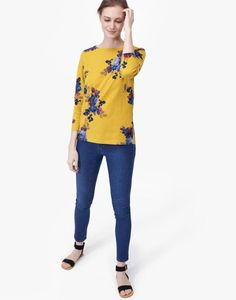 Explore the Joules collection of ladies' tops that is inspired by our British heritage. From t-shirts to jersey tops, shop online with us now. Long Sleeve Tops, Long Sleeve Shirts, Joules Uk, T Shirts For Women, Clothes For Women, Antique Gold, Work Wear, Floral Tops, Tunic Tops