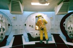 Gary Lockwood on the set of 2001: A Space Odyssey. Dmitri Kessel—The LIFE Picture Collection/Getty Images